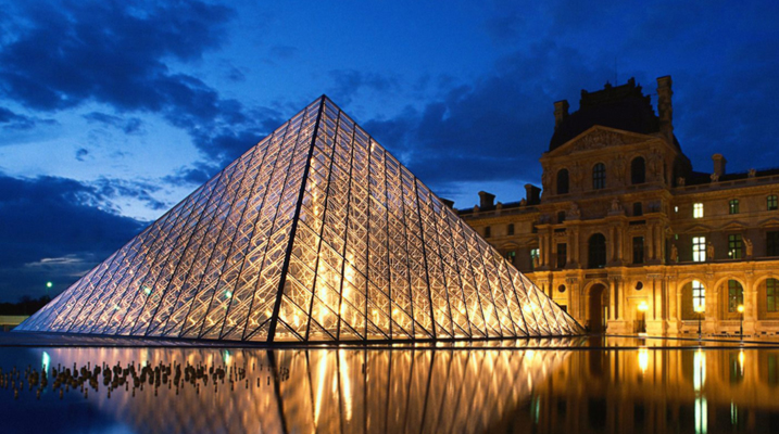 Adamson metrix l auditorium du louvre - Qui a construit la pyramide du louvre ...