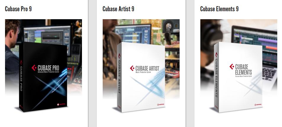disponible maintenant cubase pro 9 cubase artist 9 cubase elements 9. Black Bedroom Furniture Sets. Home Design Ideas