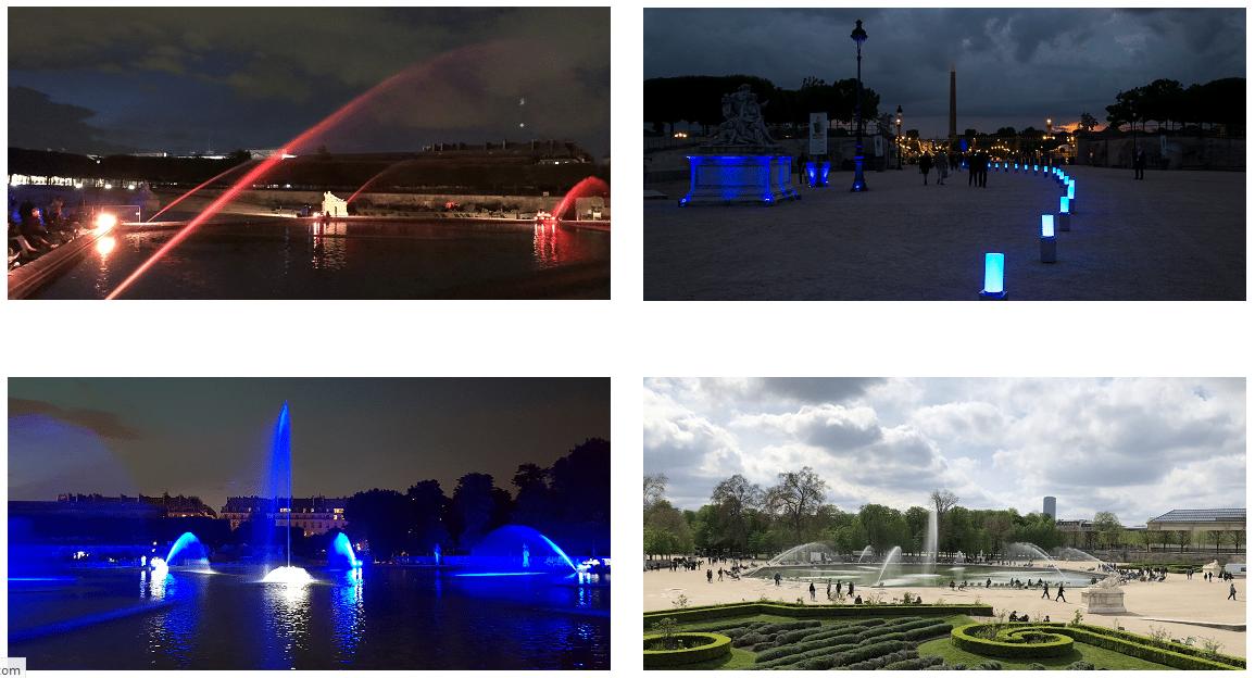 Le bassin de l\'Octogone du Jardin des Tuileries à nouveau en eau ...